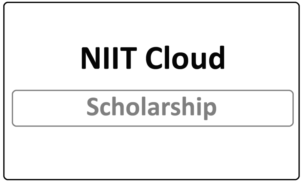 NIIT Cloud Scholarship 2021