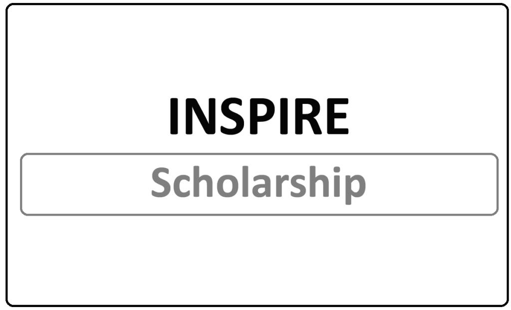 INSPIRE Scholarship 2021