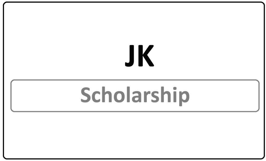 JK Scholarship 2021