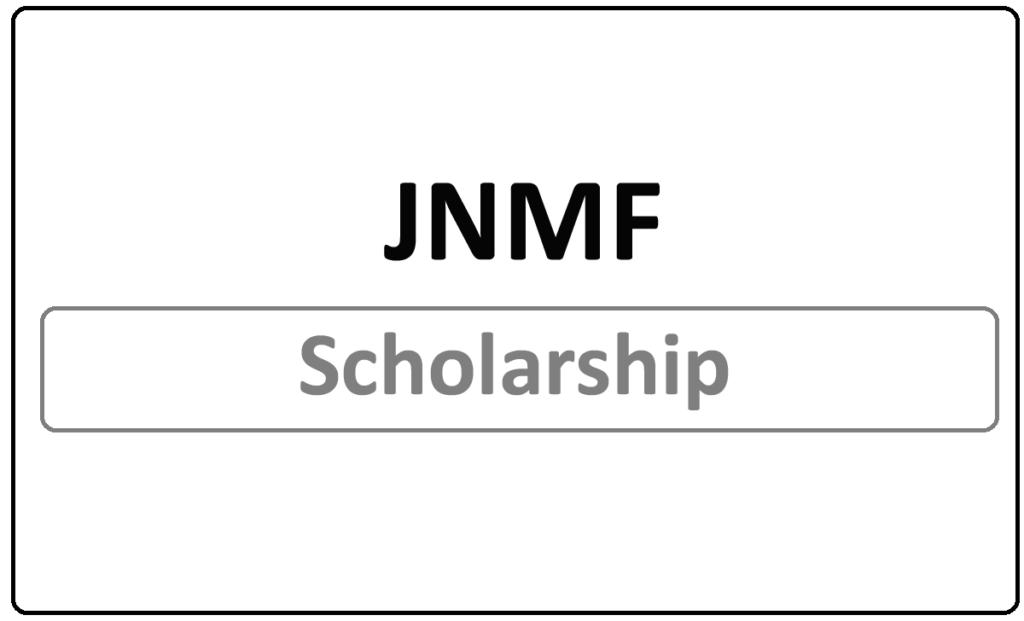 JNMF Scholarship 2021