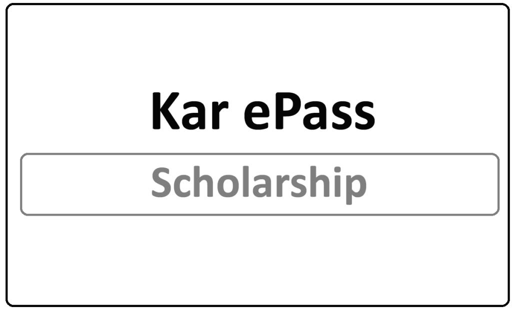 Kar ePass Status 2021