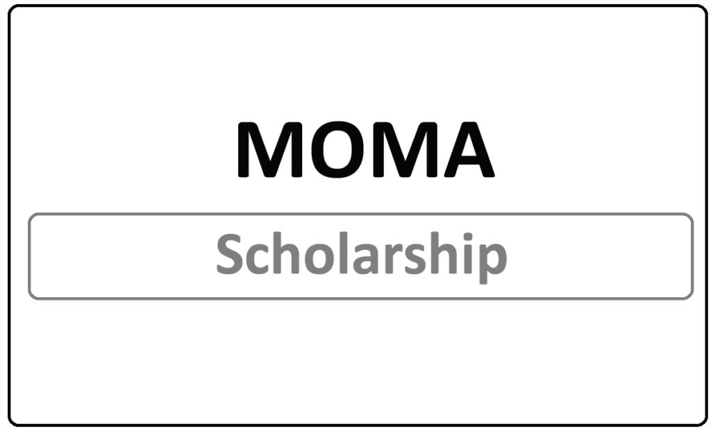 MOMA Scholarship Status 2021